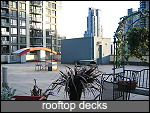 huge common roof top decks