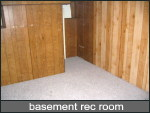 basement rec room or family room