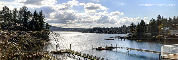 Deep Cove waterfront furnished house for rent represented by Sunstar Realty Ltd.